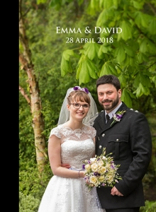 EMMA AND DAVID WEDDING ALBUM